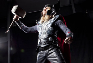 Brendon Miller is Thor