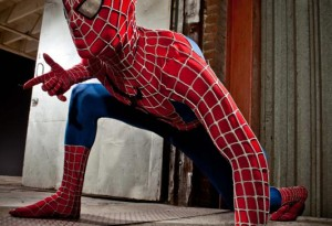 Xander Corvus is Spiderman