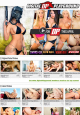 Homepage_digitalplayground screenshoot