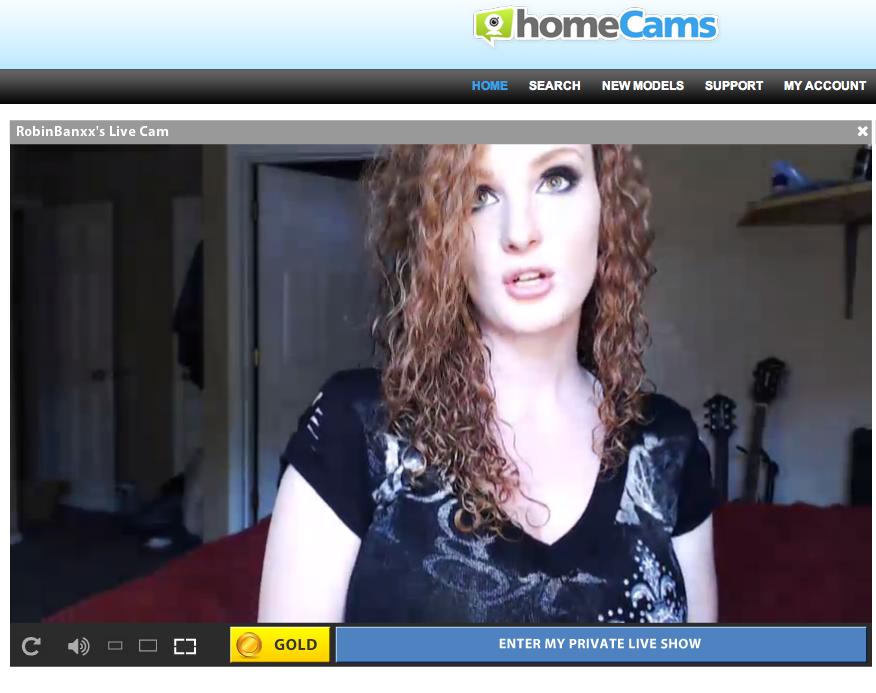 Homecams Redhead model