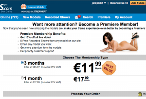 cams premium membership