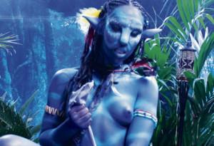 Avatar naked girl