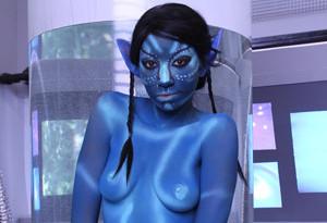 Avatar girl costume