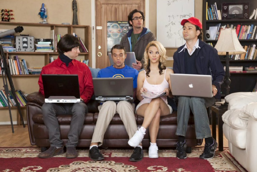 Wow .... the big bang theory porn