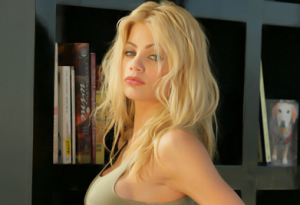 Riley Steele on Top Guns Parody