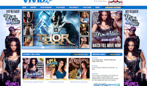 Vivid Entertainment website