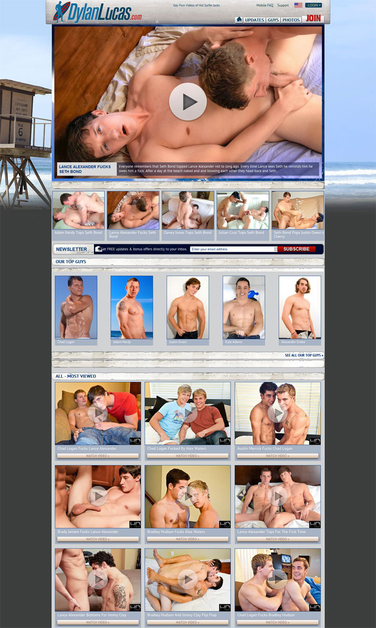 Dylanlucas_1GayPassNetwork_homepage