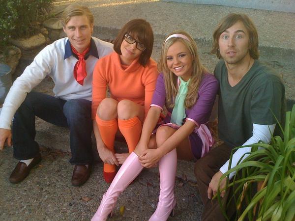 Scooby doo porn parody cast