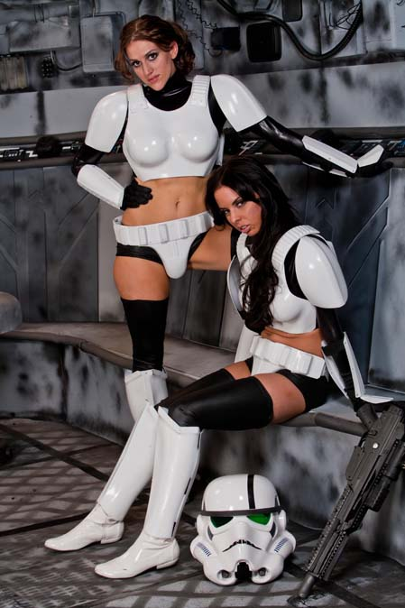 Chewbacca Star Wars Porn - Star Wars xxx Scene four can be a little bit strange, because it involves  Chewbacca in the main role with two sexy storm troopers (Brandy Aniston and  Eve ...