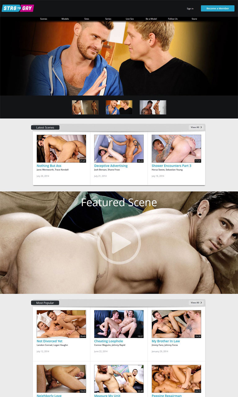 Str8 to Gay Homepage