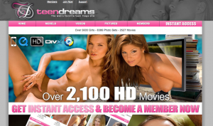 Teen Dreams Website