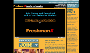 freshmanx porn site