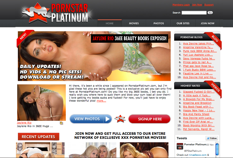 Pornstar Platinum Network