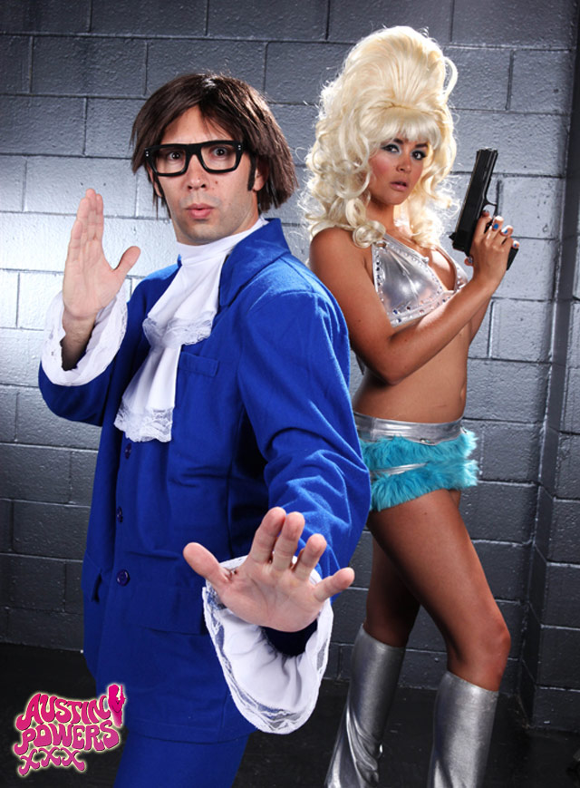 Favourite austin powers style sex want sweet blonde
