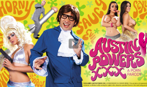 austin powers porn spoof