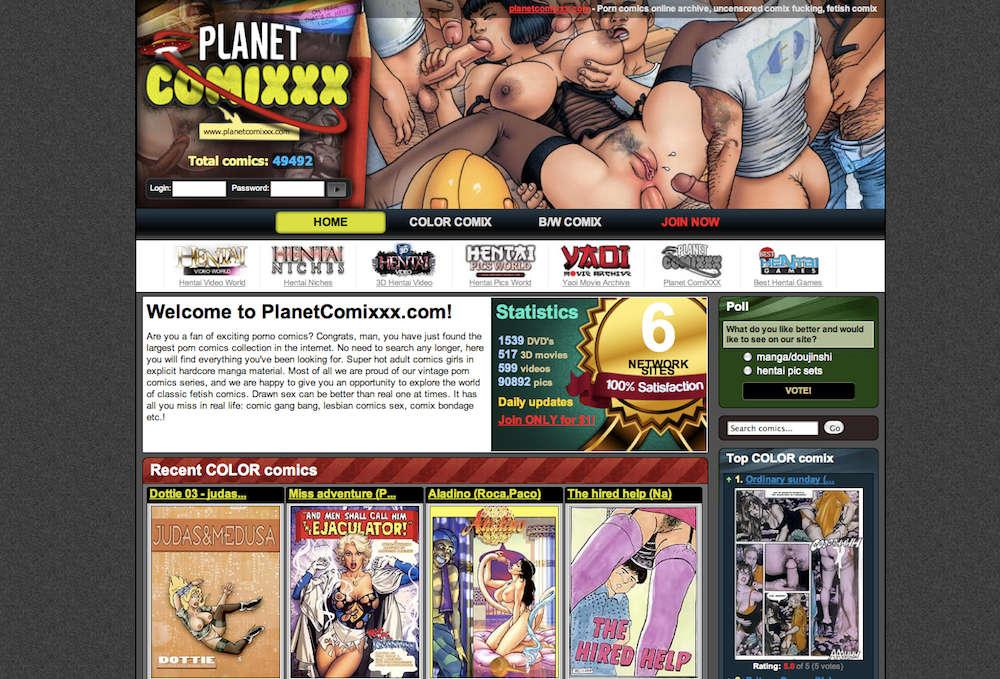 Planet Comixxx