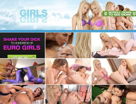 Euro Girls on Girls