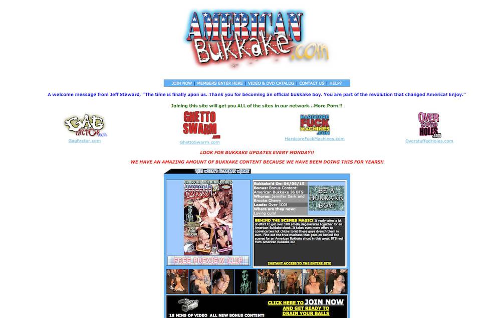 american bukkake free videos