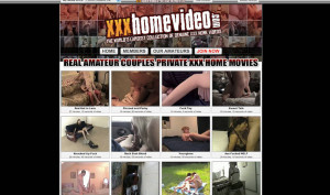 xxx home video