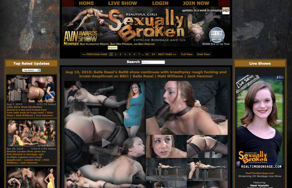 Penny pax sexually broken