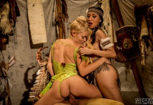Vicki Chase and Riley Steele