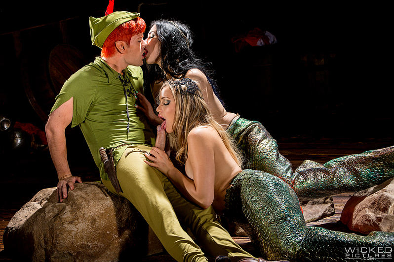 Peter pan mermaid porn consider, that