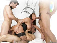 Top 5 Gang Bang Porn Scenes
