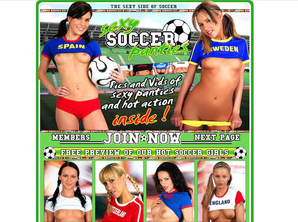 Girls nude soccer hot