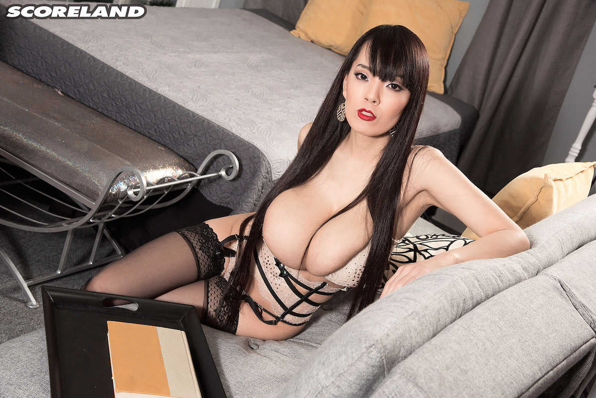 Pornstar stockings asian