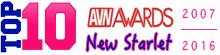 TOP 10 AVN Awards - Best New Starlet 2007-2016