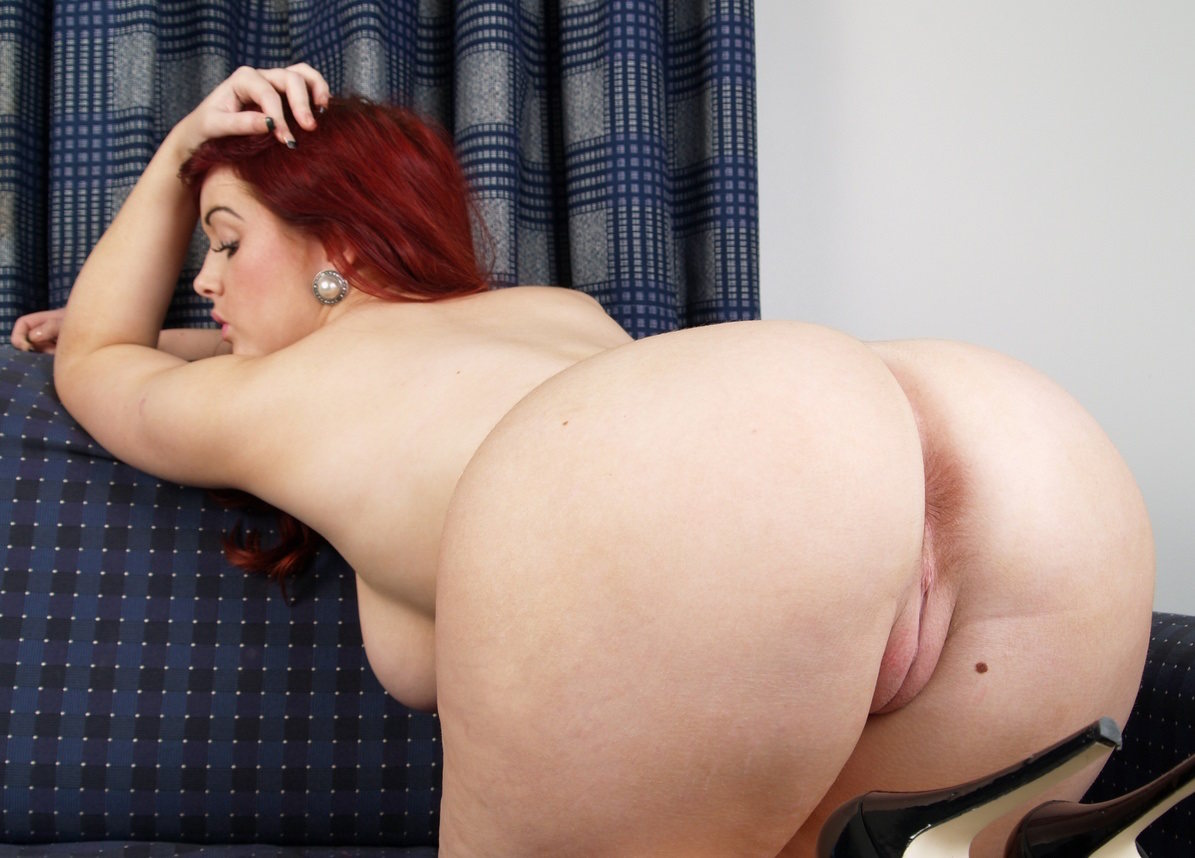 Fat chubby redhead ex girlfriend anal and riding cock 4