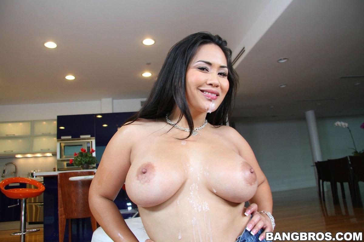 Asian pornstar nautica thorn masturbating at home 5