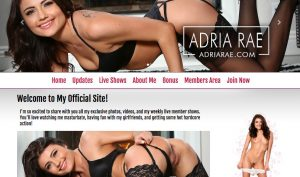 adria rae official website