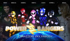 Power Bangers - A XXX Parody