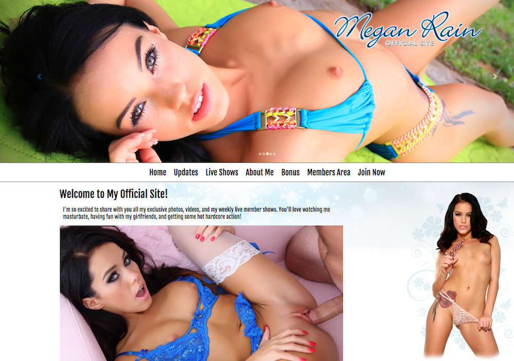 megan rain official