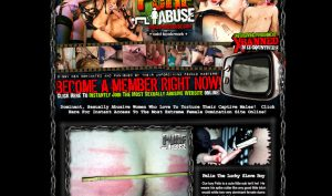 pure abuse porn site