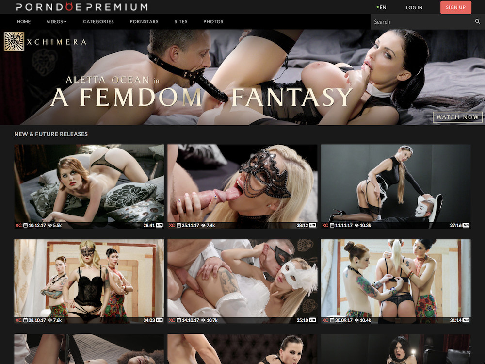 Порно видео химера