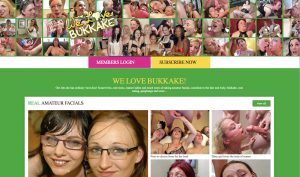 we love bukkake porn site
