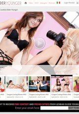 Lesbian Older Younger porn site