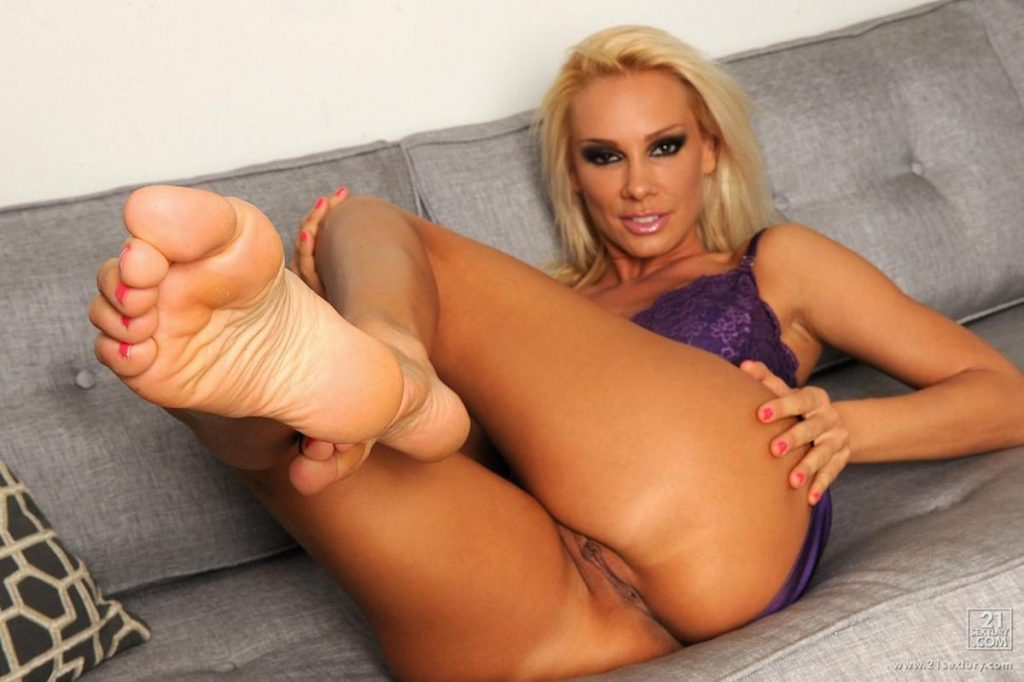 Sandy Fantasy and Anette Dawn at The Omega Project