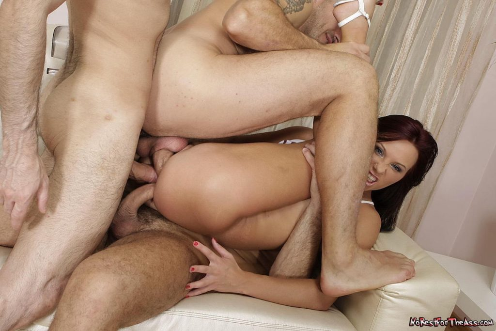 Alysa Gap Triple Penetration