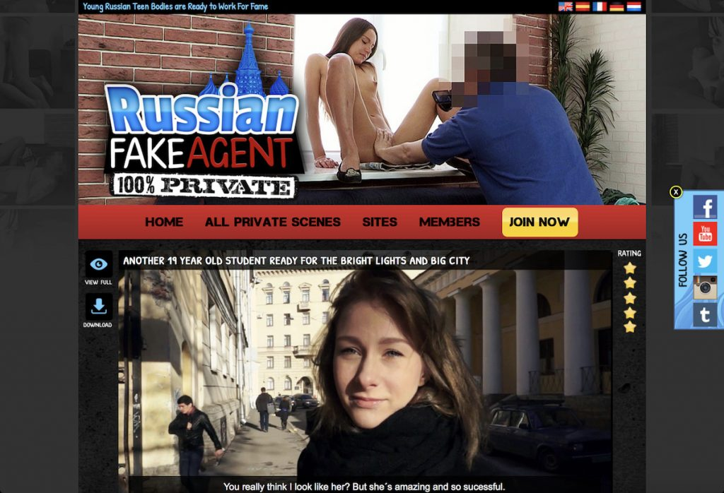 russina fake agent