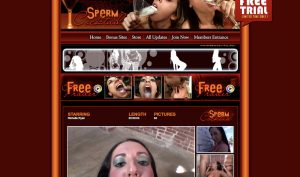sperm cocktail porn site