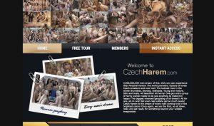 Czech Harem porn site