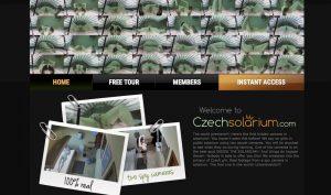 Czech Solarium porn site