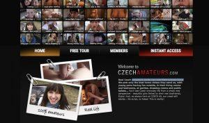 Czech Amateurs porn site