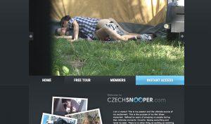 Czech Snooper porn site