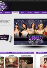 Shemale Club porn site