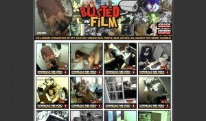 Busted On Film porn site
