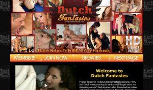 Dutch Fantasies porn site